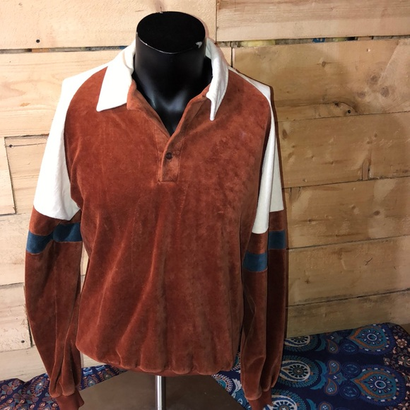 Vintage Other - Vintage 70-80s long sleeve pullover. Size XL